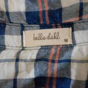 Bella Dahl Tops - Bella Dahl Plaid Button Down Indigo